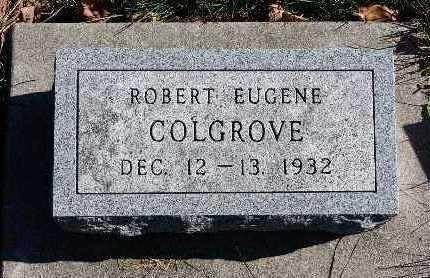 COLGROVE, ROBERT EUGENE - Warren County, Iowa | ROBERT EUGENE COLGROVE