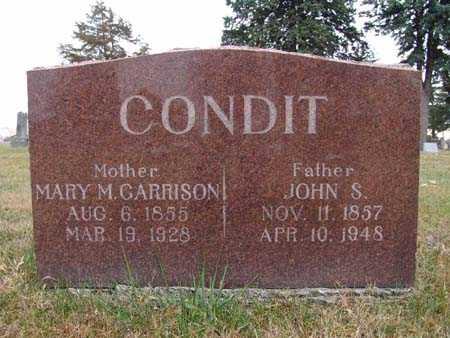 CONDIT, JOHN S. - Warren County, Iowa | JOHN S. CONDIT