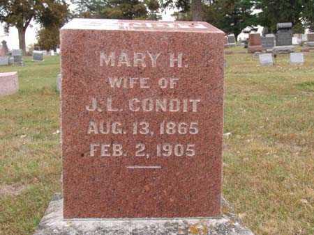 CONDIT, MARY H. - Warren County, Iowa | MARY H. CONDIT