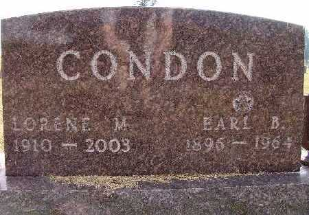 CONDON, EARL B. - Warren County, Iowa | EARL B. CONDON
