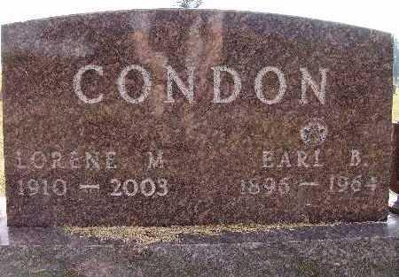 CONDON, LORENE M. - Warren County, Iowa | LORENE M. CONDON