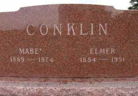 SEPTER CONKLIN, MABEL - Warren County, Iowa | MABEL SEPTER CONKLIN