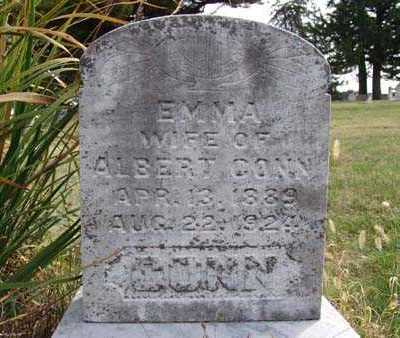 CONN, EMMA - Warren County, Iowa | EMMA CONN