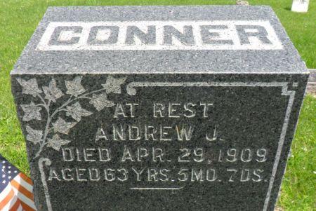 CONNER, ANDREW J. - Warren County, Iowa   ANDREW J. CONNER