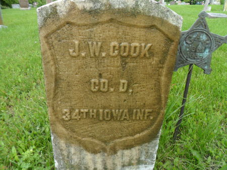 COOK, JOHN W. - Warren County, Iowa | JOHN W. COOK