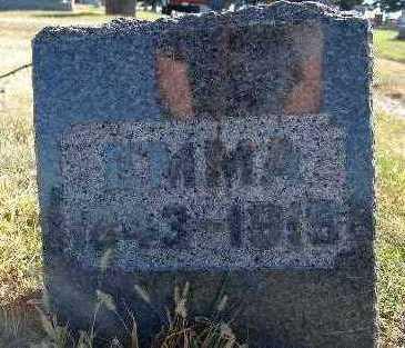 COOKE, EMMA - Warren County, Iowa   EMMA COOKE