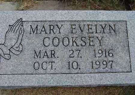 COOKSEY, MARY EVELYN - Warren County, Iowa | MARY EVELYN COOKSEY