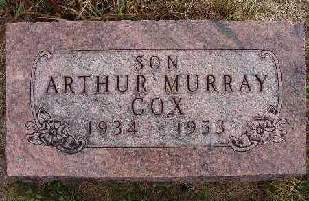 COX, ARTHUR MURRAY - Warren County, Iowa | ARTHUR MURRAY COX
