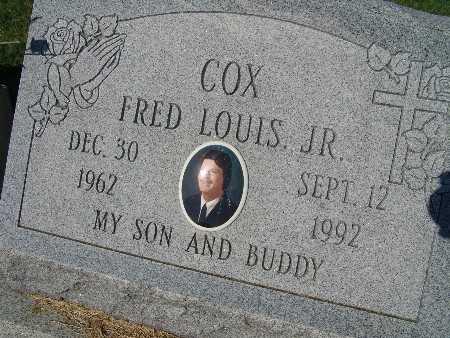 COX, FRED LOUIS JR. - Warren County, Iowa   FRED LOUIS JR. COX
