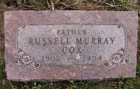 COX, RUSSELL MURRAY - Warren County, Iowa | RUSSELL MURRAY COX