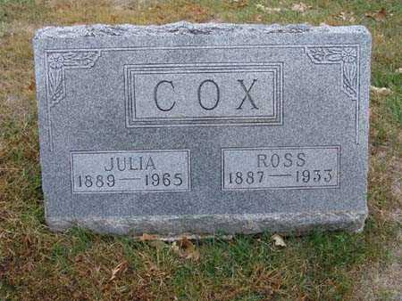 COX, ROSS - Warren County, Iowa | ROSS COX