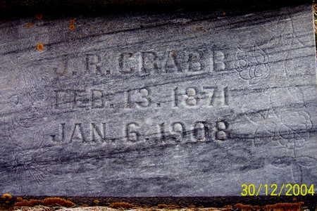 CRABB, J. R. - Warren County, Iowa | J. R. CRABB