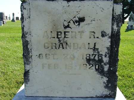 CRANDALL, ALBERT R - Warren County, Iowa | ALBERT R CRANDALL