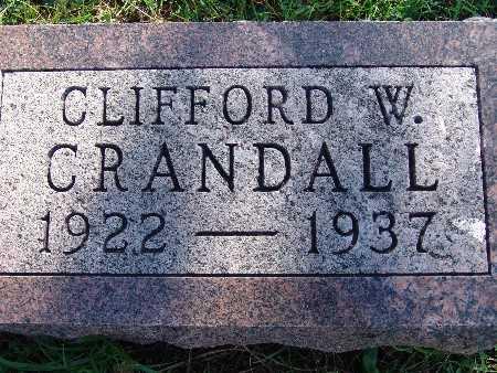 CRANDALL, CLIFFORD W - Warren County, Iowa | CLIFFORD W CRANDALL