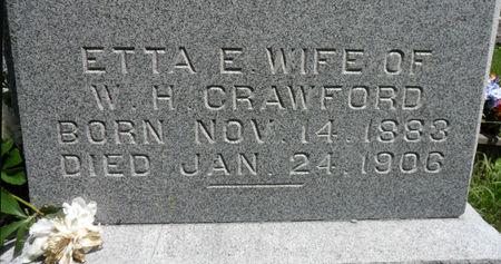 CRAWFORD, ETTA E. - Warren County, Iowa | ETTA E. CRAWFORD