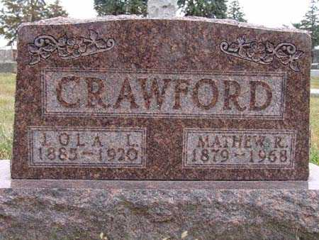 CRAWFORD, LOLA L. - Warren County, Iowa | LOLA L. CRAWFORD