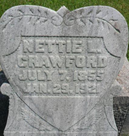 CRAWFORD, NETTIE L. - Warren County, Iowa   NETTIE L. CRAWFORD