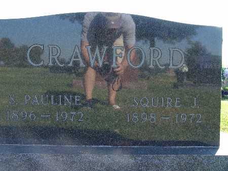 CRAWFORD, SQUIRE J. - Warren County, Iowa | SQUIRE J. CRAWFORD