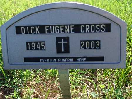 CROSS, DICK EUGENE - Warren County, Iowa | DICK EUGENE CROSS