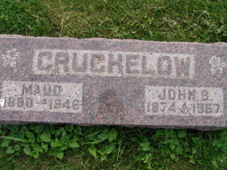 CRUCHELOW, MAUD - Warren County, Iowa | MAUD CRUCHELOW