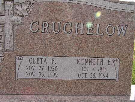 CRUCHELOW, CLETA E. - Warren County, Iowa | CLETA E. CRUCHELOW