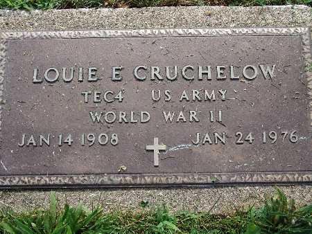 CRUCHELOW, LOUIE E. - Warren County, Iowa | LOUIE E. CRUCHELOW