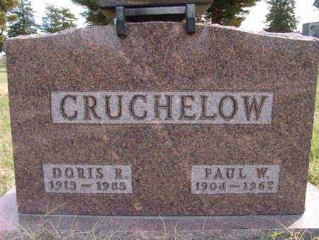 CRUCHELOW, DORIS R. - Warren County, Iowa   DORIS R. CRUCHELOW