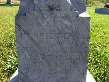 CULBERTSON, HENRIETTA A. - Warren County, Iowa | HENRIETTA A. CULBERTSON