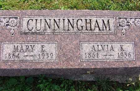CUNNINGHAM, MARY E. - Warren County, Iowa | MARY E. CUNNINGHAM