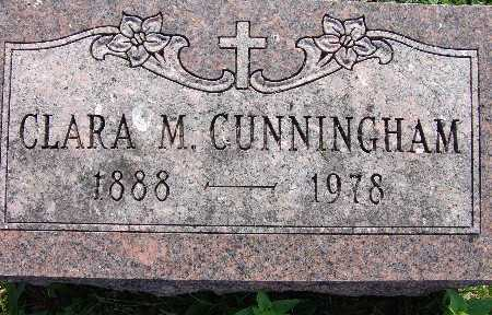 CUNNINGHAM, CLARA M. - Warren County, Iowa | CLARA M. CUNNINGHAM
