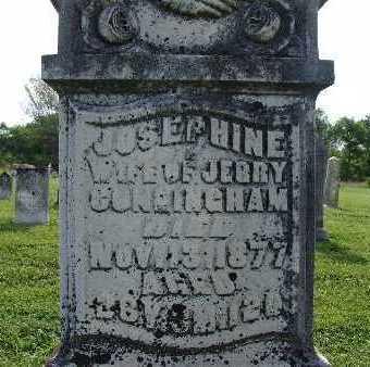 CUNNINGHAM, JOSEPHINE - Warren County, Iowa | JOSEPHINE CUNNINGHAM