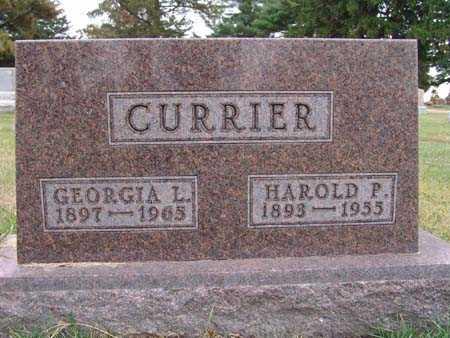 CURRIER, HAROLD P. - Warren County, Iowa | HAROLD P. CURRIER