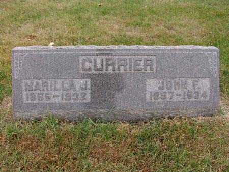 CURRIER, JOHN F. - Warren County, Iowa | JOHN F. CURRIER