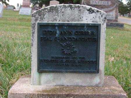 CURRIER, LYDIA ANN - Warren County, Iowa   LYDIA ANN CURRIER