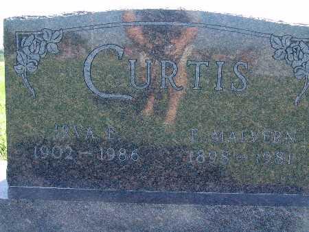 CURTIS, E MALVERN - Warren County, Iowa   E MALVERN CURTIS