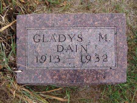 DAIN, GLADYS M. - Warren County, Iowa | GLADYS M. DAIN