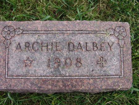 DALBEY, ARCHIE - Warren County, Iowa | ARCHIE DALBEY