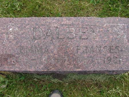 DALBEY, FRANCES - Warren County, Iowa | FRANCES DALBEY