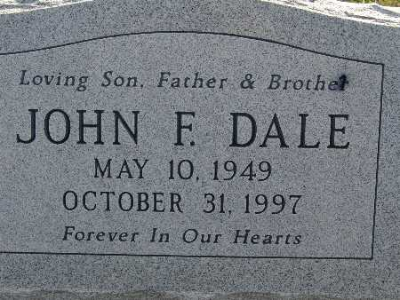 DALE, JOHN F. - Warren County, Iowa | JOHN F. DALE