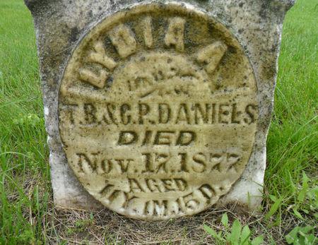 DANIELS, LYDIA A. - Warren County, Iowa | LYDIA A. DANIELS