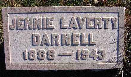 DARNELL, JENNIE LAVERTY - Warren County, Iowa | JENNIE LAVERTY DARNELL
