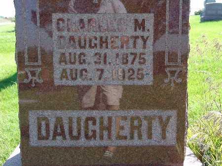 DAUGHERTY, CHARLES M - Warren County, Iowa   CHARLES M DAUGHERTY