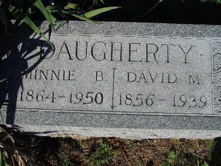 DAUGHERTY, DAVID M - Warren County, Iowa | DAVID M DAUGHERTY