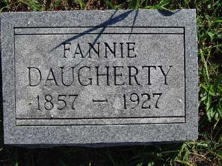 DAUGHERTY, FANNIE - Warren County, Iowa   FANNIE DAUGHERTY
