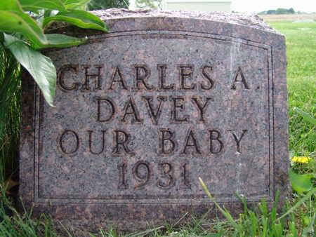 DAVEY, CHARLES A. - Warren County, Iowa   CHARLES A. DAVEY