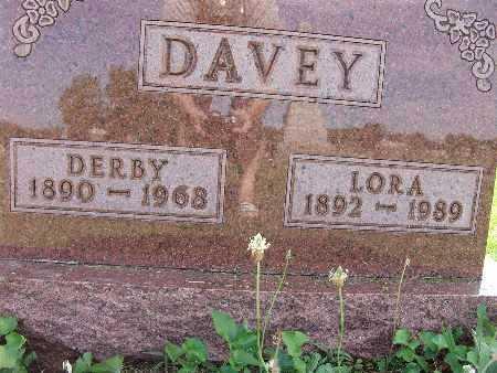 DAVEY, LORA - Warren County, Iowa   LORA DAVEY