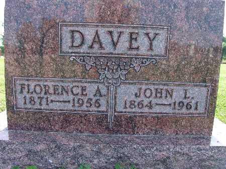 DAVEY, FLORENCE A. - Warren County, Iowa | FLORENCE A. DAVEY