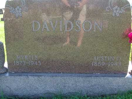 DAVIDSON, AUSTIN O - Warren County, Iowa | AUSTIN O DAVIDSON