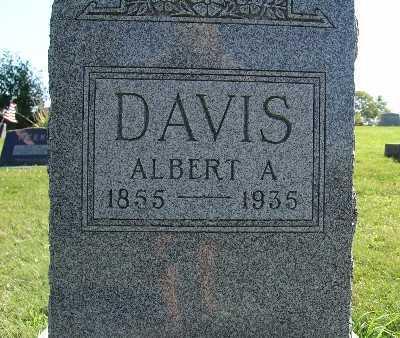 DAVIS, ALBERT A. - Warren County, Iowa   ALBERT A. DAVIS