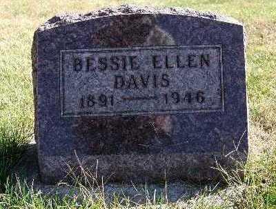 DAVIS, BESSIE ELLEN - Warren County, Iowa | BESSIE ELLEN DAVIS